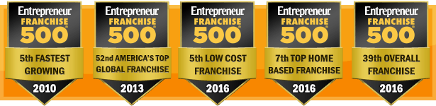 Entrepreneur Franchise 500 Top Award Winner Year After Year